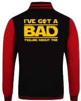 BAD FEELING VARSITY - INSPIRED BY HAN SOLO STAR WARS